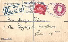 Grande Bretagne Großbritannien Britain JERSEY, Entier Postal Ganzsachen Postal Stationery, Enveloppe Umschläge Envelope - Entiers Postaux