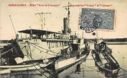 DIEGO SUAREZ - Aviso Vitry-le-François, Sous-marins Fulton Et Joëssel. - Madagascar