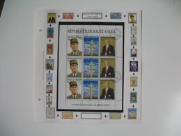 Timbre    Charles De Gaulle   Haute-Volta   à Voir - De Gaulle (General)