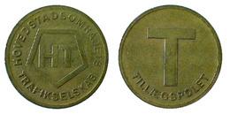 03133 GETTONE TOKEN JETON TRASPORTO TRANSIT DENMARK HOVEDSTADS OMRflDETS TRAFIKSELSKAB TILLAEGSPOLET - Tokens & Medals
