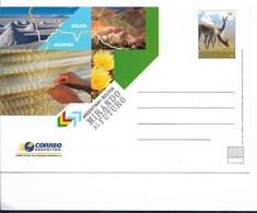 ARGENTINA POSTAL STATIONERY YEAR 2005, ARGENTINA BOLIVIA LOOKING AT FUTURE FAUNA - Enteros Postales