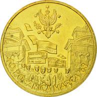 Monnaie, Pologne, 40th Anniversary Rocznica March, 2 Zlote, 2008, Warsaw, TTB - Polonia
