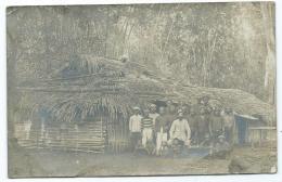 CARETE PHOTO A LOCALISER, ANCIENNE COLONIE FRANCAISE ? COLON, INDIGENES, AUTOCHTONES - Postcards