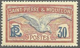 ST PIERRE ET MIQUELON   1922-28  -  Y&T 112 -  NEUF** - Ungebraucht