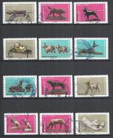 FRANCE 2018 - DOGS IN WORKS OF ART - YV. A1516/A1527 - CPL. SET - USED OBLITERE GESTEMPELT USADO - CACHET ROND - Oblitérés