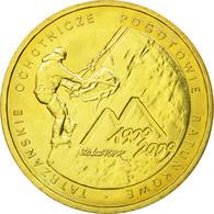 Monnaie, Pologne, Tatar Mountain Rescue, 2 Zlote, 2009, Warsaw, TTB, Laiton - Polonia