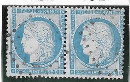 TIMBRES N° 60/1 ;  PAIRE 88/89  B2 ,   TB - 1871-1875 Cérès