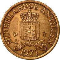 Monnaie, Netherlands Antilles, Juliana, Cent, 1971, TTB, Bronze, KM:8 - Antilles Neérlandaises