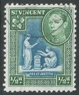 St Vincent. 1938-47 KGVI. ½d Used. SG 149 - St.Vincent (...-1979)