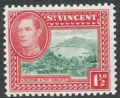St Vincent. 1938-47 KGVI. 1½d MH. SG 151 - St.Vincent (...-1979)