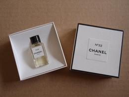 RARE MINIATURE Eau De Parfum N°22 Les Exclusifs De CHANEL 4 Ml - Miniatures Modernes (à Partir De 1961)