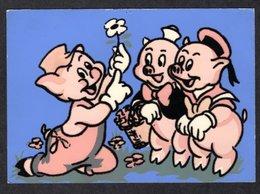 WALT DYSNEY 1962 // LES 3 PETITS COCHONS - ETABLISSEMENTS CARRERE - DISTRIBUE PAR SEPHERIADES - Disney