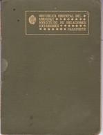 URUGUAY MASCULINO MALE RARE PARTIDA DE CASAMIENTO + PASAPORTE PASSPORT REISEPASS PASSAPORTO CIRCA 1920.-BLEUP - Documentos Históricos