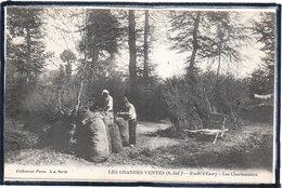 LES GRANDES VENTES - FORET D'EAWY - LES CHARBONNIERS - CHARBON - BEAU PLAN - France