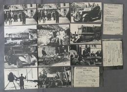 Lot De Cartes Postales De La Poche De St Nazaire 1945 ( Reproduction De 1985 ) - Guerre 1939-45