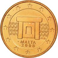 Malte, Euro Cent, 2008, SUP, Copper Plated Steel, KM:125 - Malta