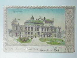 Russia 295 Odessa Theatre 1904 - Russia