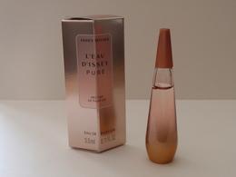 BELLE MINIATURE Eau De Parfum L'EAU D'ISSEY Pure 3,5 Ml Nectar De Parfum NOUVEAUTE 2018 - Miniatures Modernes (à Partir De 1961)