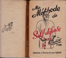 """Livre De 380 Pages Sur """"Self-Défence""""  Mikonosuke Kawaishi Shi-Han 1952 - Artes Marciales"""