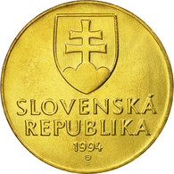 Monnaie, Slovaquie, 10 Koruna, 1994, SPL, Aluminum-Bronze, KM:11 - Slovaquie