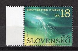 SLOVAKIA - 2005 International Year Of Physics   M180 - Slovaquie