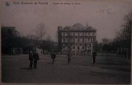 Thieu Château St Pierre Avec échassiers - Le Roeulx