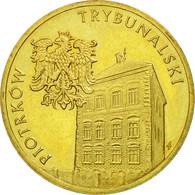 Monnaie, Pologne, 2 Zlote, 2008, Warsaw, TB+, Laiton, KM:628 - Polonia