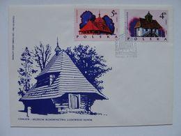 Wooden Churches / Orthodox Church  Sanok / Poland  FDC - Churches & Cathedrals