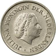 Monnaie, Pays-Bas, Juliana, 25 Cents, 1960, TTB, Nickel, KM:183 - [ 3] 1815-… : Kingdom Of The Netherlands
