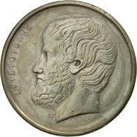 Monnaie, Grèce, Aristotle, 5 Drachmes, 1982, TTB, Copper-nickel, KM:131 - Greece