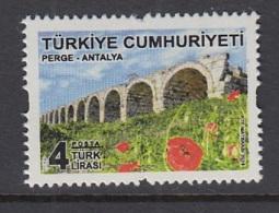 5.- TURKEY 2018  ANTALYA THEMED DEFINITIVE STAMP - Nuevos