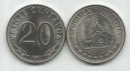 Bolivia 20 Centavos 1967. KM#189 High Grade - Bolivie