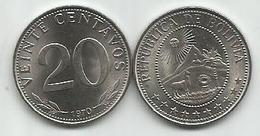 Bolivia 20 Centavos 1970. KM#189 High Grade - Bolivie
