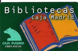 TARJETA OBRA SOCIAL CAJA MADRID - Unclassified