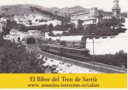 CALENDARIO DE ESPAÑA DEL TREN DE SARRIA DEL AÑO 2004 (CALENDRIER-CALENDAR) TREN-TRAIN-ZUG - Tamaño Pequeño : 2001-...