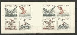 LATVIA - MNH - Animals - Birds - Brochure - Oiseaux