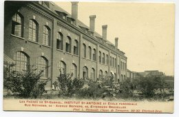 CPA - Carte Postale - Belgique - Etterbeek - Institut St Antoine Et Ecole Paroissiale (SV5898) - Etterbeek