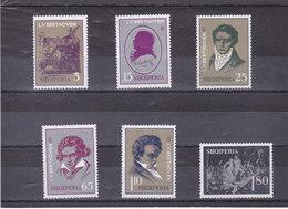 ALBANIE 1970 BEETHOVEN MUSIQUE Yvert 1273-1278 NEUF** MNH - Albanie