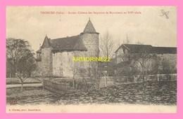CPA  THODURE  Ancien Chateau Des Seigneurs De Montchenu Au 14eme Siecle - France