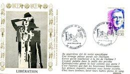 Bureau Temporaire Guillaumes Du 14 & 15 Juillet 1990 - 45e Anniversaire Libération - X 597 - WW2 (II Guerra Mundial)