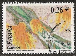 2003-ED. 4036 S.H CORTADO DE H.B.-MAPA GEOLOGICO NACIONAL.-USADO- - 1931-Hoy: 2ª República - ... Juan Carlos I