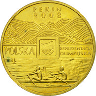 Monnaie, Pologne, 29th Olympic Games Beijing 2008, 2 Zlote, 2008, TTB, Laiton - Polonia