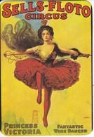 CALENDARIO DE ESPAÑA DE SELLS-FLOTO CIRCUS DEL AÑO 1989 (CALENDRIER-CALENDAR) BELLE EPOQUE - Calendarios