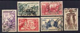 INDOCHINE - 193/198* - EXPOSITION INTERNATIONALE DE PARIS - Indochina (1889-1945)