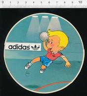 Autocollant Sticker Publicité Adidas Sport Handball Hand  21/10 ADH - Autocollants