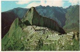 CUZCO-PERU-RUINAS INCAICAS DE MACHU PICCHU - Perù