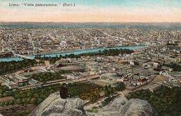 LIMA-VISTA PANORAMICA-ANNI 1915 CCA - Perù