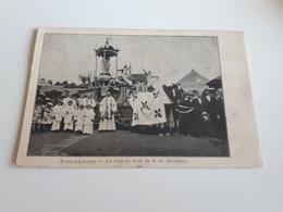 *PONT-A-CELLES  Le Char Au Tour De N.D. De Celles Oblitéré En 1912 - Pont-à-Celles