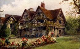 ARTIST - QUATREMAIN - SALMON 2523 - STRATFORD - HALLS CROFT - Stratford Upon Avon