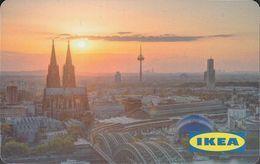 GERMANY Gift-card  IKEA - Köln 2 - Gift Cards